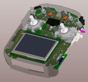 Leiterplatte und Gehäuse im 3D Co-Design