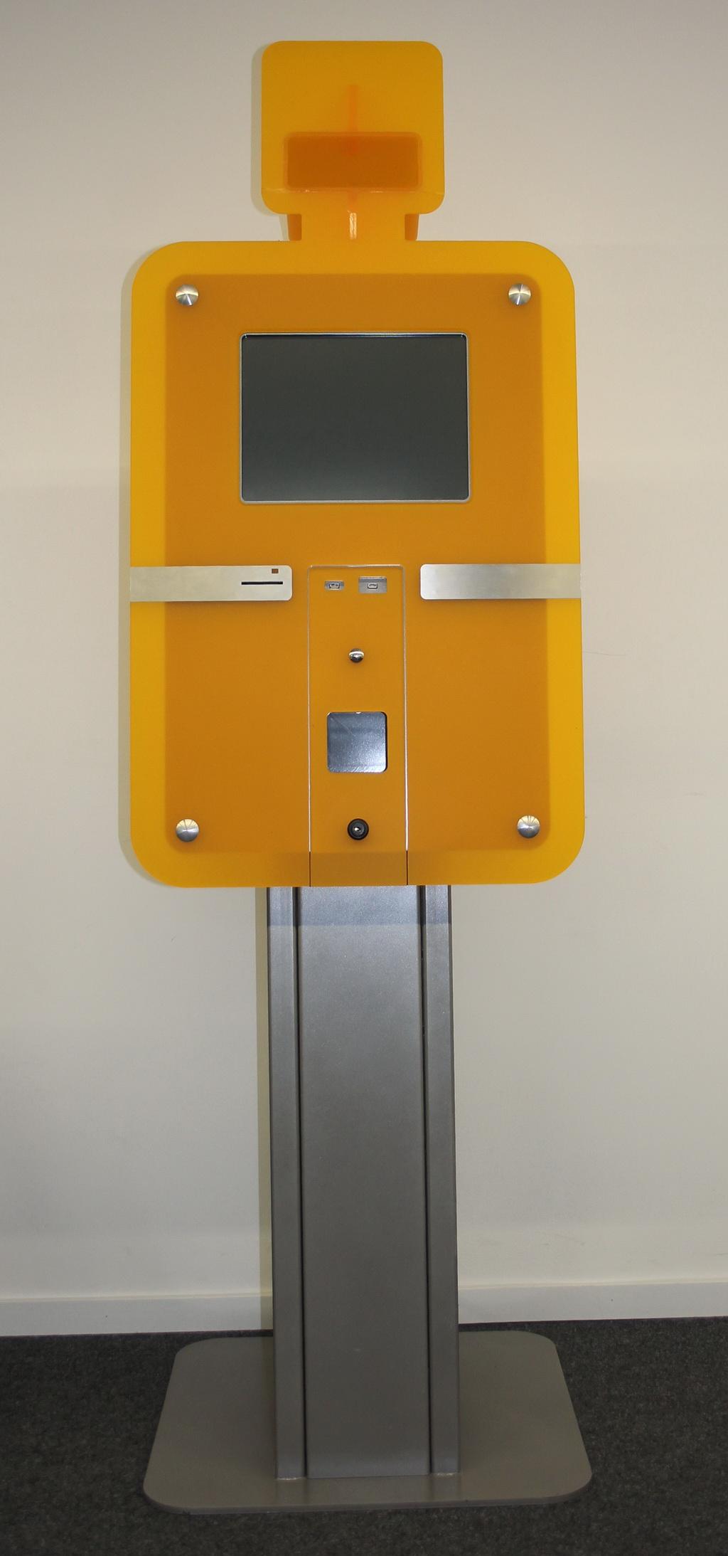 Tachopoint Terminal für Fahrerkarten digitaler Fahrtschreiber