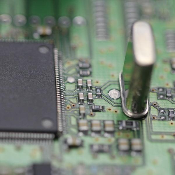 SMD auf Leiterplatte