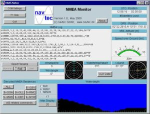 navtec NMEA Monitor